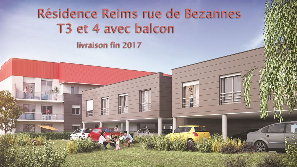 appartement Rue de Bezannes Reims