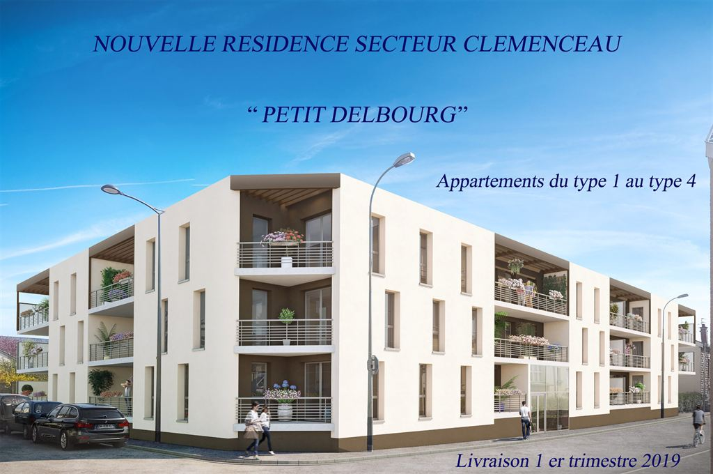 appartement Clémenceau Reims
