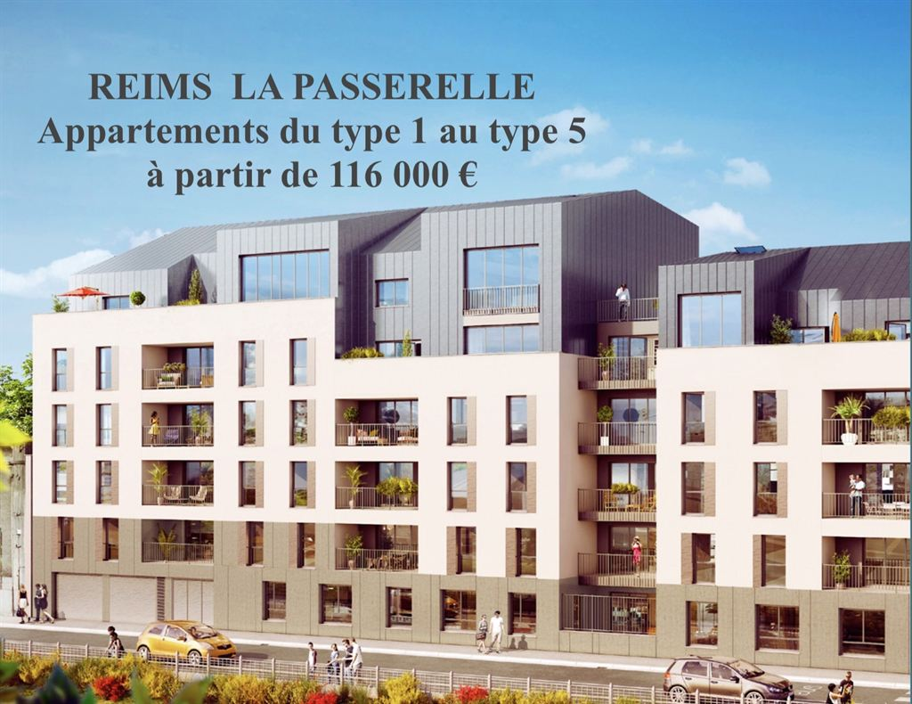 appartement Boulingrin Reims