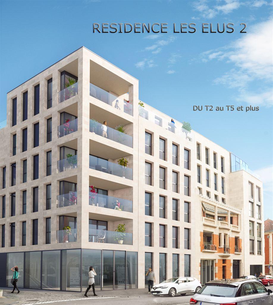 appartement rue des Elus Reims