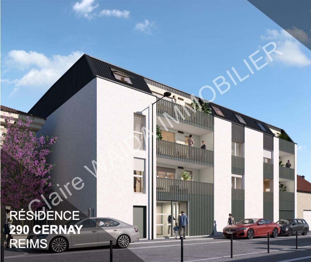 appartement 290 rue de Cernay Reims
