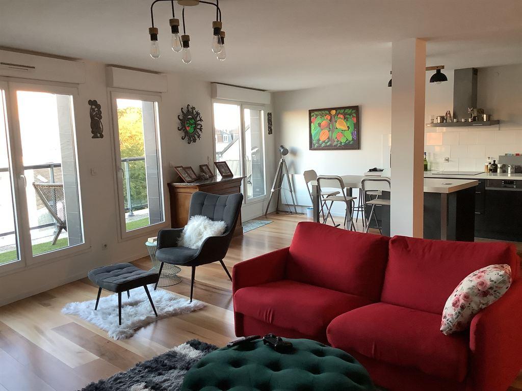 appartement 7 mn à pied du Boulingrin Reims